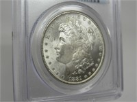 1881-CC US Morgan Silver Dollar