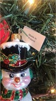 "Radko ""Shopping Spree"" Christmas Ornament"