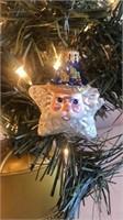 "Radko ""Shine on Santa Star"" Ornament"