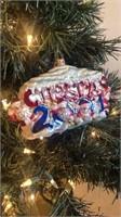 "Radko ""Christmas 2001"" Ornament"