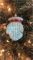 "Radko ""Wooly Mitten"" Ornament"