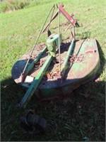 John Deere 506 3pt rotary cutter 5ft