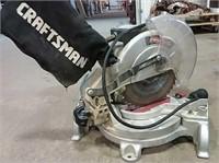 Working Craftsman compound miter saw