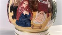 Nativity Scene Cookie Jar