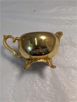 Vintage Gold Electroplated Tea Set