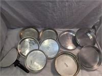 Springform Pan, Pie Tins, & Non-Stick Omelette