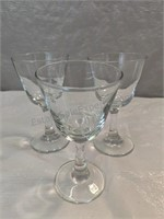 Detroit Westin Glass (The Summit), Wine Glasses,