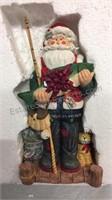 The San Francisco Music Box Co Fisherman Santa