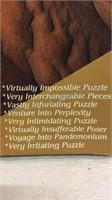 Vintage VIP The Ultimate Puzzle - Unused