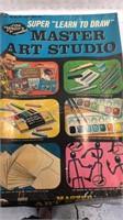 Vintage Jon Gnagy's Master Art Studio