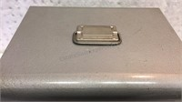 Vintage Metal File Box 10x12 1/2x10