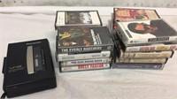 Panasonic Cassette Tape Player & Assorted