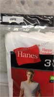 Package of Men's Large V Neck T Shirts