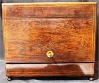 Tantalus Bar Set / Decanter Set with key