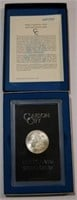 1884 Carson City Uncirculated Morgan Silver Dollar