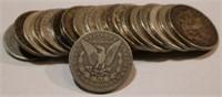 1878/1878-S Roll of 20 Morgan Silver Dollars