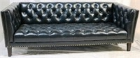 Lazzaro leather Chesterfield sofa