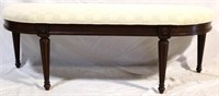 Henkel Harris carved bed bench