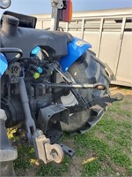 New  Holland TN75A 4x4 utility tractor with