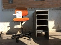 Chair and Storage Unit