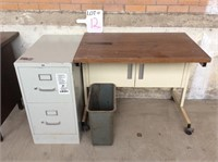 File Cabinets and Copier Desk