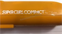 Vintage Compact Curling Iron, Assorted Makeup