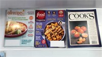Assorted Cooking Magazines