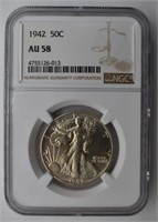 ESTATE COIN AUCTION ONLINE ONLY