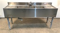 Stainless Steel 3 Bay Sink