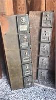 Post office box doors