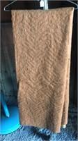 Burlap and wool? Blanket