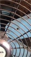 Holmes Turquoise oscillating floor fan