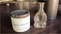 Bottles, tins and canisters