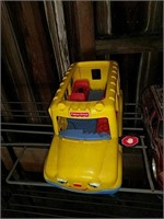 Fisher-Price bus and other SUV toy