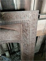 Ornate Cast iron Fireplace trim