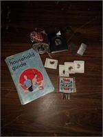 Black Sabbath Celtic cross, cigarette case, Zippo