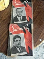 1930's Stand By radio magazines