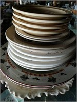 Plates and saucers