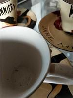 8 Sango Cabaret cups and saucers