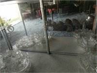 Lighted commercial Glass display case
