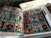 Football and baseball cards