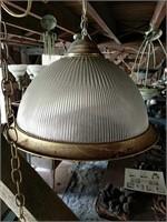 Hanging single bulb light fixtures