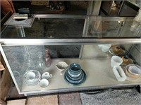 Lighted Glass front commercial display case