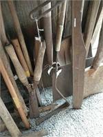 Antique long handled tools