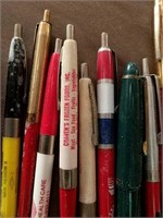 Advertising pens
