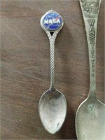 NASA collector spoon and others