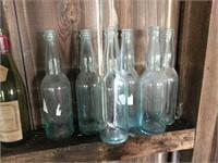 1 AB glass bottle, 6 Registered