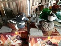 14 Heritage Artists Waterfowl figurines