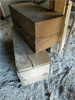 Wooden crate and chime case