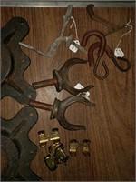 Various iron pieces